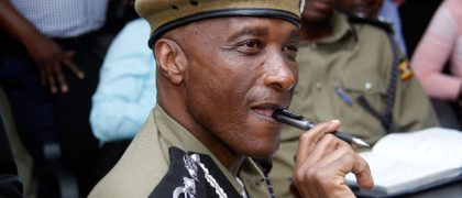 Gen Kale Kayihura hands over highly indebted police.