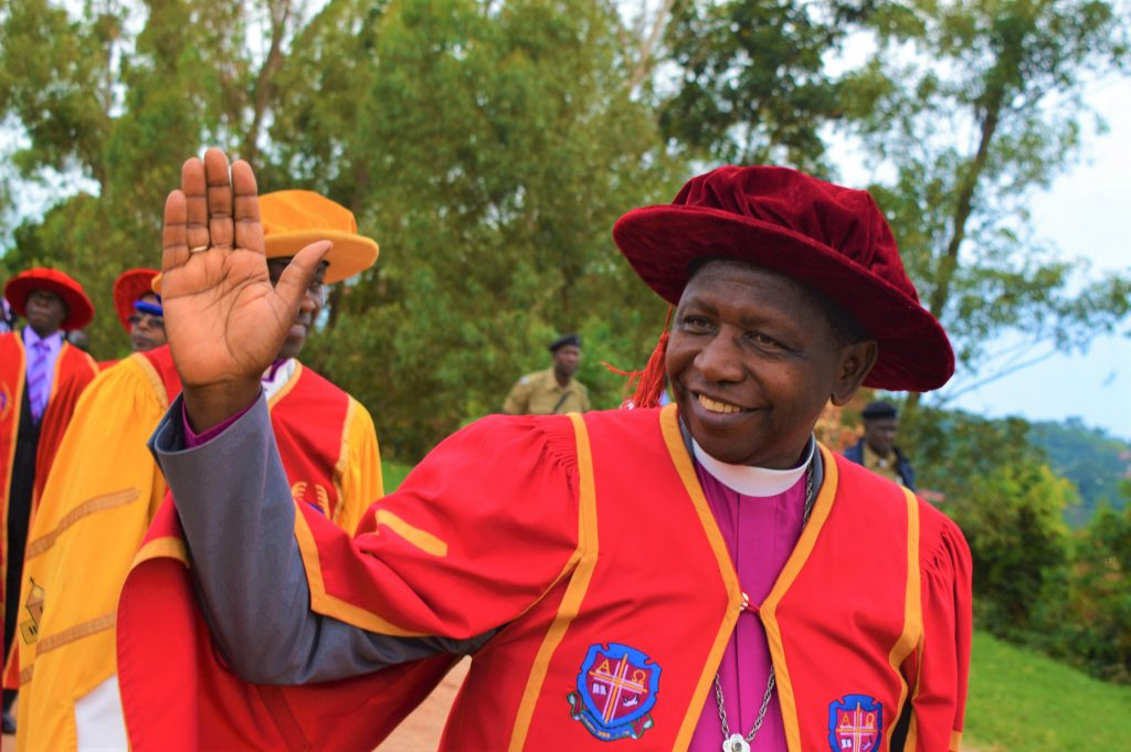 His Grace, Stanely Ntagali, the Archbishop of the Church of Uganda