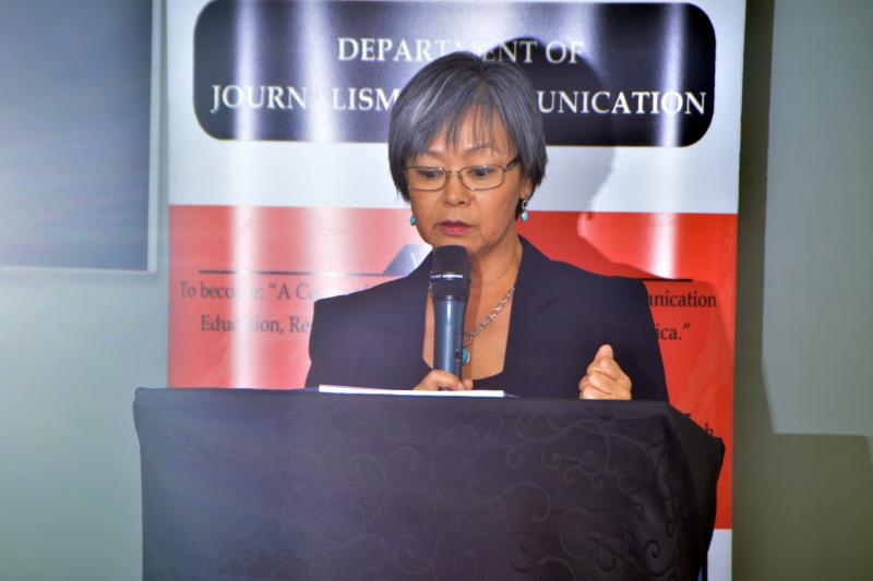 H.E Susan Eckey, The Norwegian Ambassador to Uganda