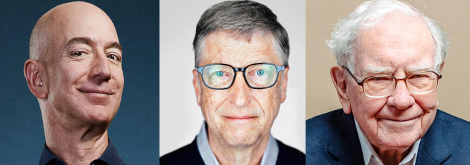 Top 10 richest people in the world 2019, net worth