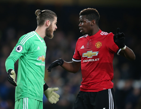 De Gea and Pogba