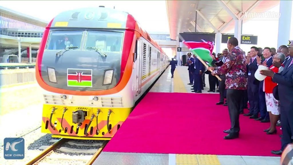 Kenya opens the second period of  the railroad venture