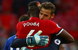 Pogba De Gea out of United's conflict with Liverpool