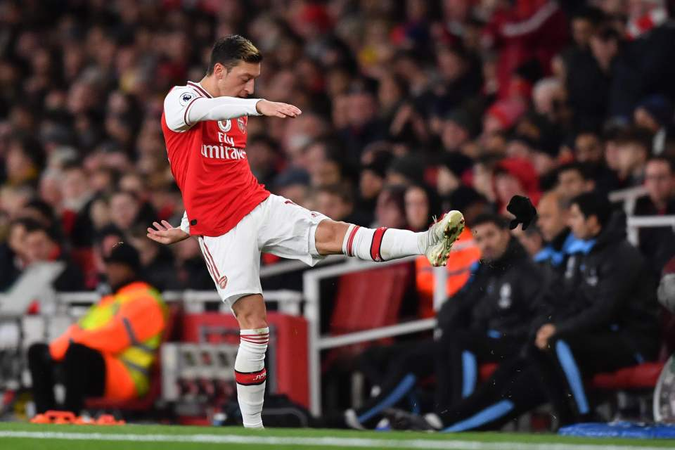 China media alerts Arsenal of 'veritable consequences' over 'clownish' Ozil