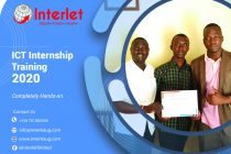 ICT internship training 2020