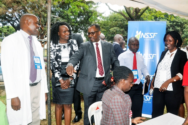 NSSF dispatches countrywide drive to gather 10,000 units of blood