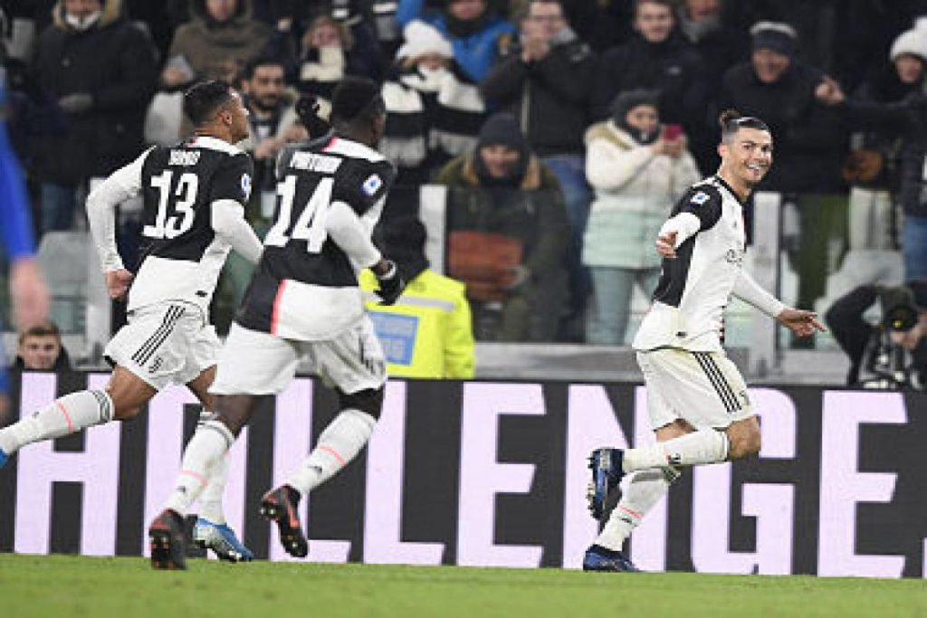 Ronaldo sets up scoring points of reference with Juventus' support against Parma