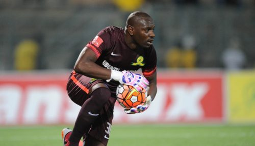 Onyango Denis invites keepers to contest for his gloves