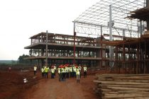 East Africa's first vehicle plant takes shape.