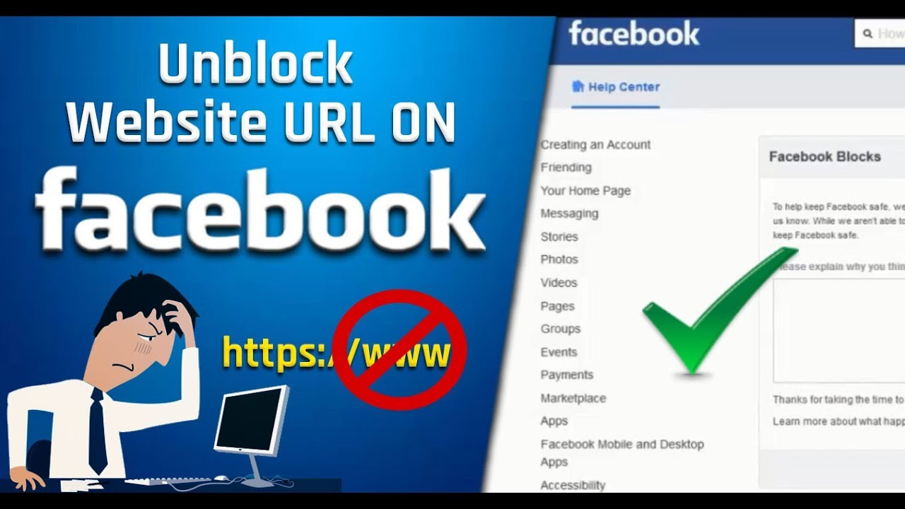 How to unblock your domain on Facebook