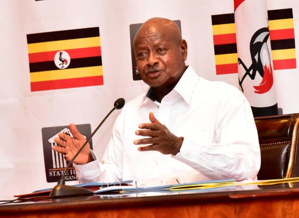 Museveni to ban on public transport for bikes; cautions traders on climbing product costs