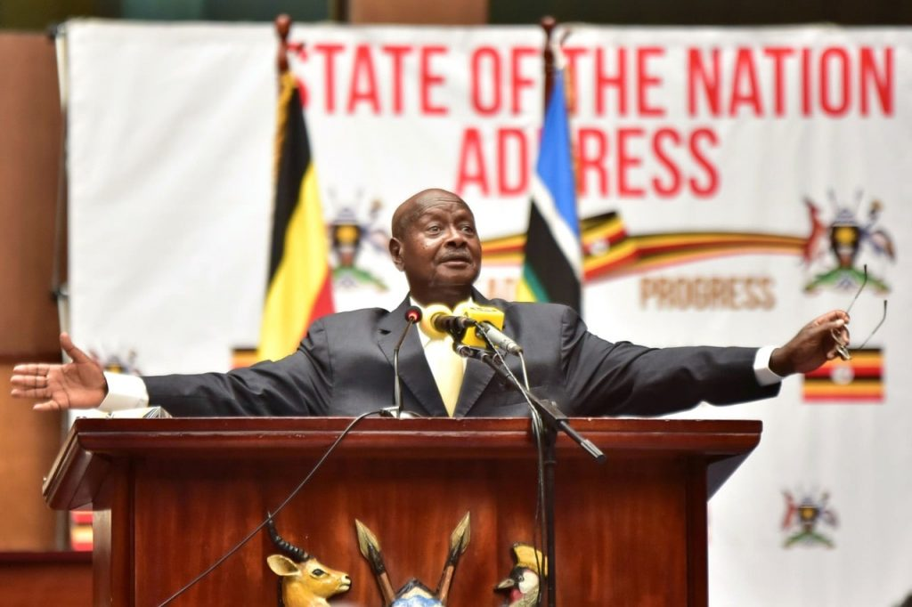 Museveni to close schools and churches today