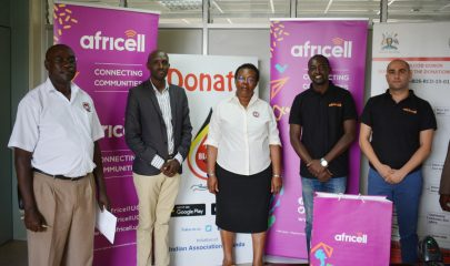 Africell Uganda and UBTS