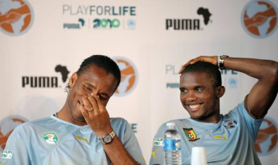 Didier drogba and Etoo