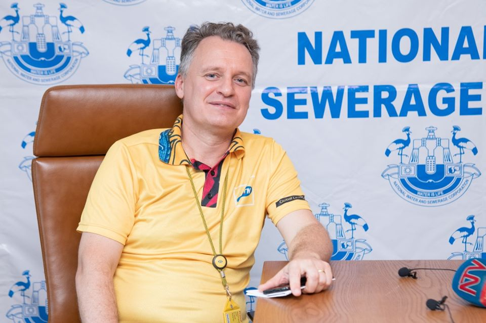 wim vanhelleputte MTN CEO and National water and sewerage Corporation