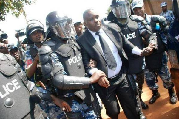 Kampala Lord Mayor Erias Lukwago was brutally arrest by Police at his home at Wakaliga back in 2017
