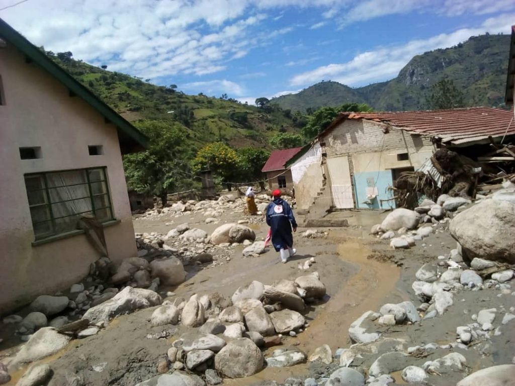 Kirember hospital among the facilities affected by the floods in Kasese. Our team continues with the assessment.