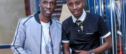 Douglas Lwanga and MC Kats