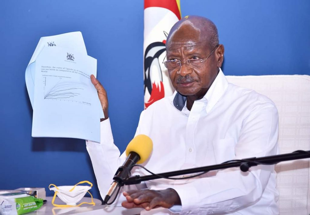President Yoweri Kaguta Museveni to address the Country about the rising COVID-19 cases in Uganda