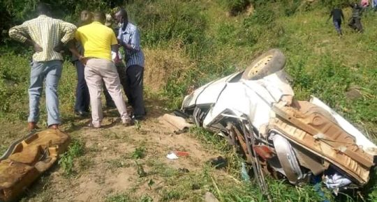 Couple dies in a nasty road accident