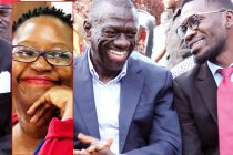 Stella Nyanzi and Kiiza Besigye
