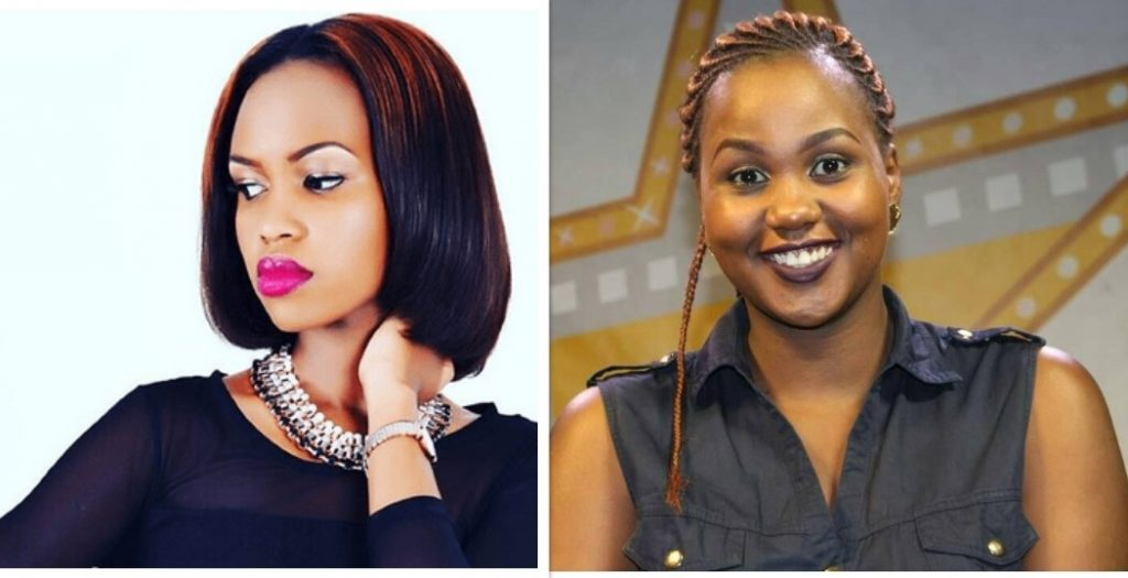 Tina Fierce and Sheilah Gashumba