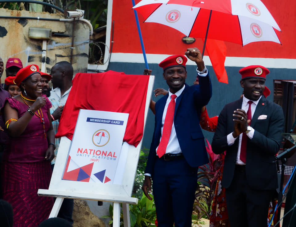 National Unity Platform (NUP) launches party membership card