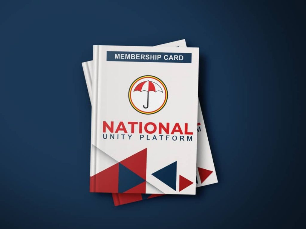 National Unity Platform launches Party membership card