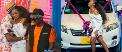 Zuchu sheds tears of Joy as Diamond gifts her a brand new car - PHOTOS
