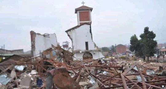 3 Police Officers and 11 others Arrested Over Ndeeba Church Demolition