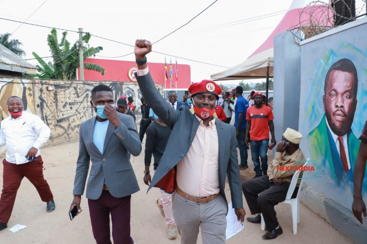Andrew Mwenda vows to challenge Bobi Wine for party Flag