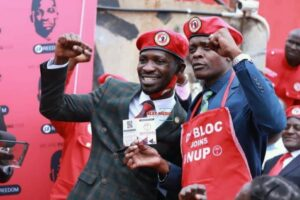 Jose Chameleone officially joins Bobi Wine's party NUP
