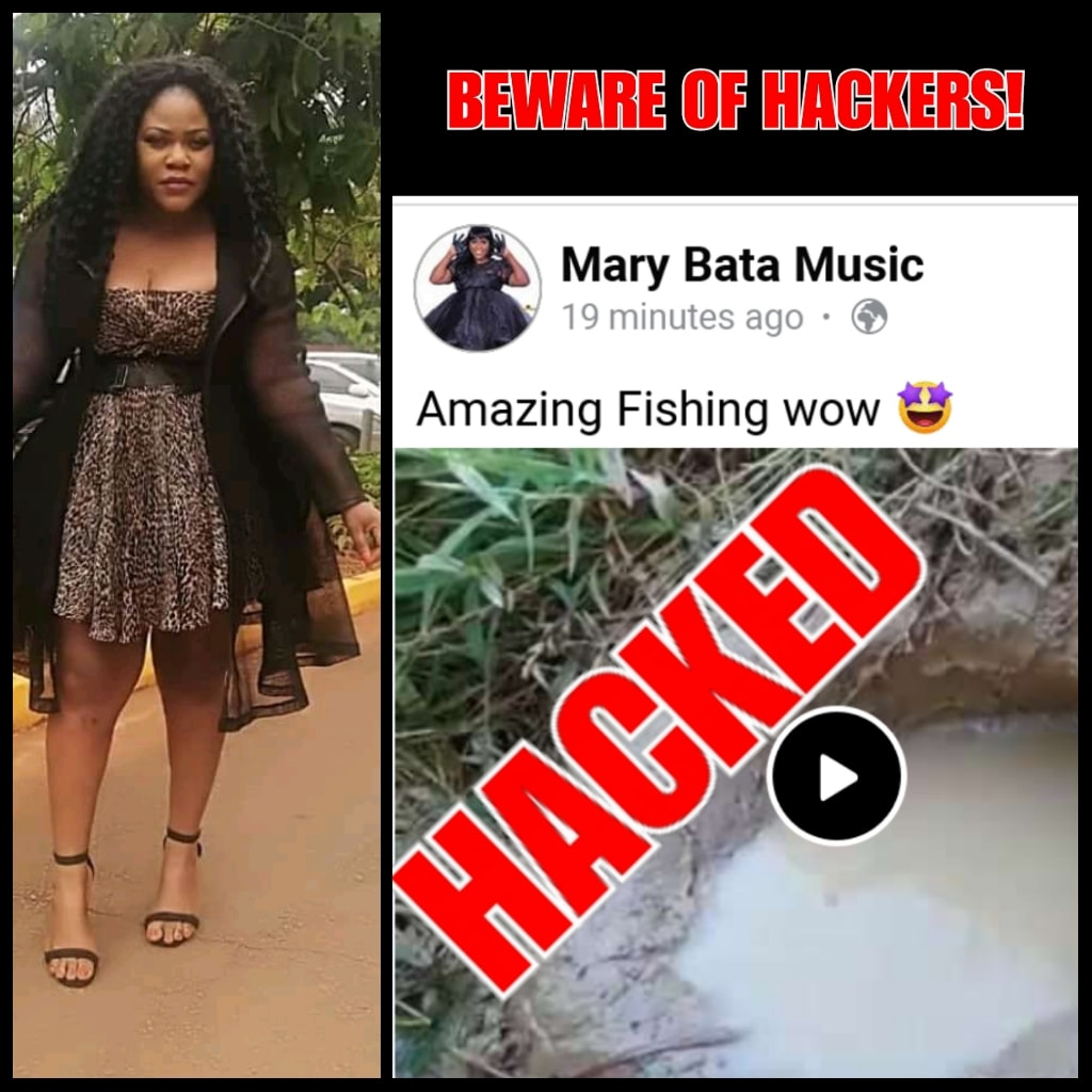 Mary bata music page hacked