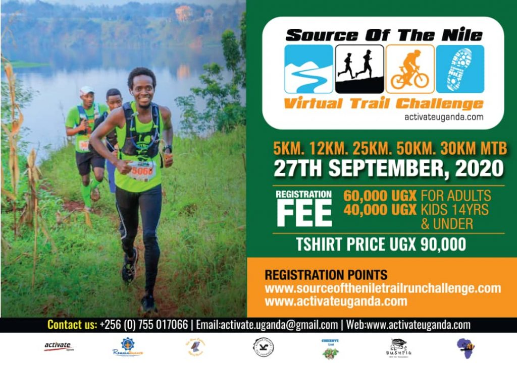 Source of the Nile Trail Challenge to take place 27th September 2020
