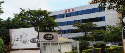 Uganda Broadcasting Corporation (UBC TV) confirms 10 COVID-19 cases