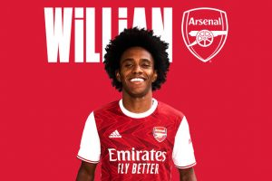 Willian joins Arsenal on a 3 year deal