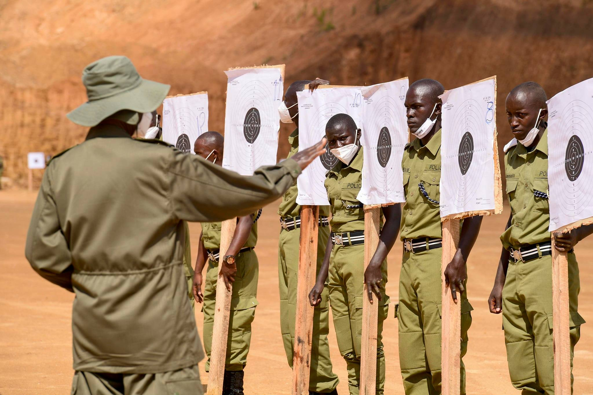 Museveni passes out 4809 Learner Assistant Inspectors of Police