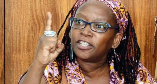 Stella Nyanzi is a Ugandan medical anthropologist, feminist, queer rights activist, and scholar of sexuality, family planning, and public health.
