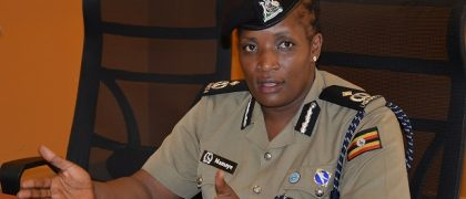 ACP Polly Namaye, the Deputy police Spokesperson