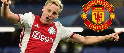 Donny van de Beek set for Manchester United move