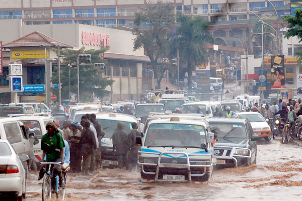Two Bodies Recovered As Floods Hit Kampala