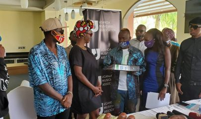 Ykee Benda swears in as Uganda Musicians Association (UMA) President