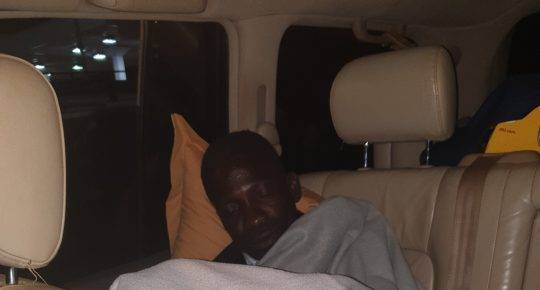 Bobi Wine & Nubian sleep in their car after DPC denied them access to Hotels
