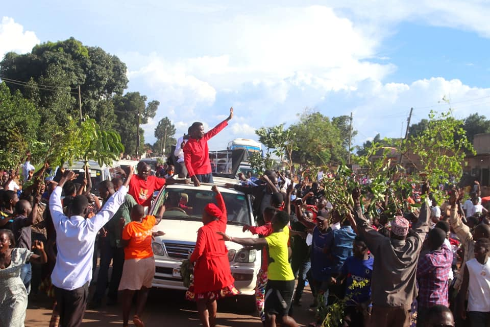 Excitement As Bobi Wine Travels To Pakwach For Today's Campaign Launch