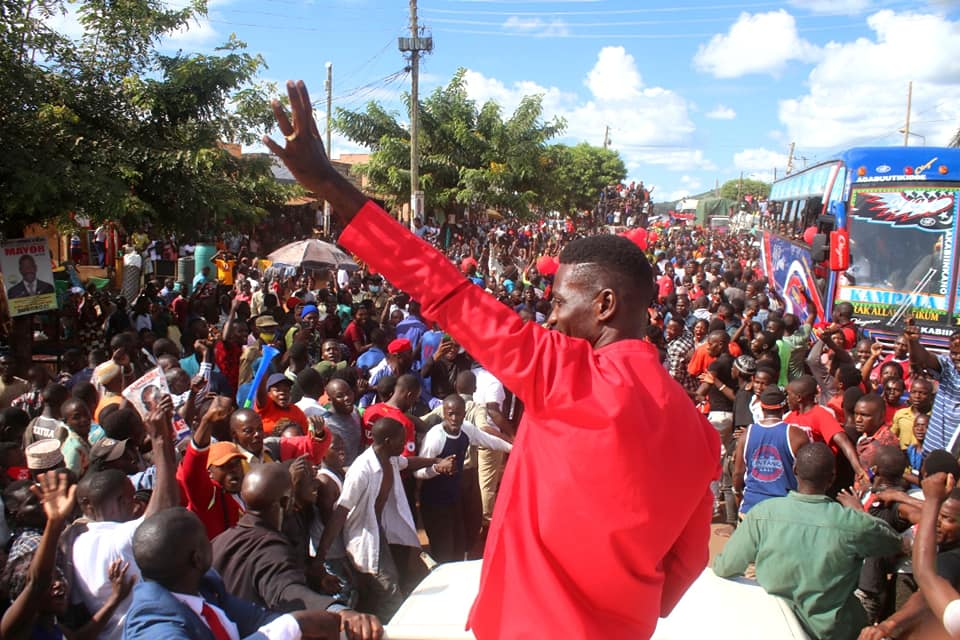 Bobi Wine's campaigns kick off in West nile. Excitement As Bobi Wine Travels To Pakwach For Today's Campaign Launch