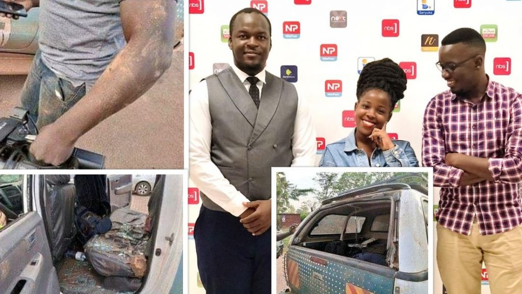 Robbed NBS TV staff Withdrawal from Covering Bobi Wine's campaigns