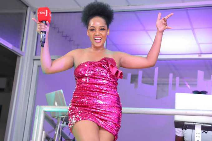 VIDEO - Zahara Toto swings her beans LIVE on camera