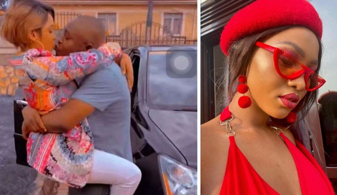 Zahara Toto swaps saliva with Manager Roger - Spice Diana in Tears