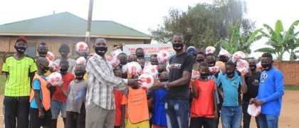 Fortebet Uganda boosts Winners Sports Academy with 50 Soccer Balls
