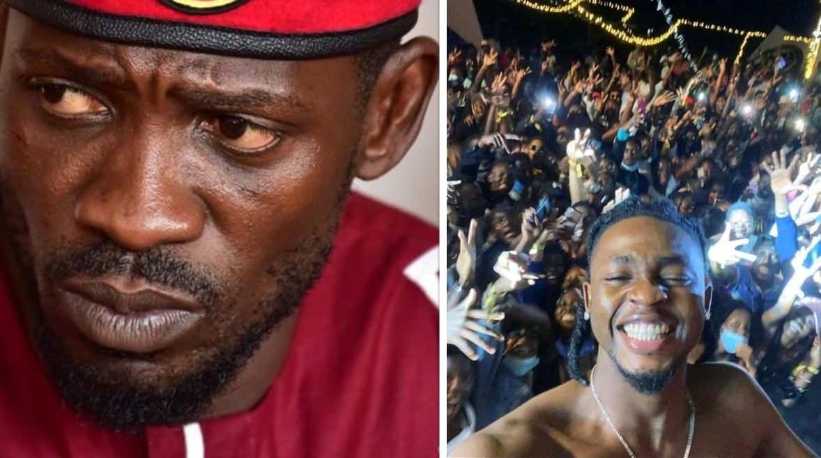 Bobi Wine Speaks out on Omah lay's Arrest, says it's not about COVID-19